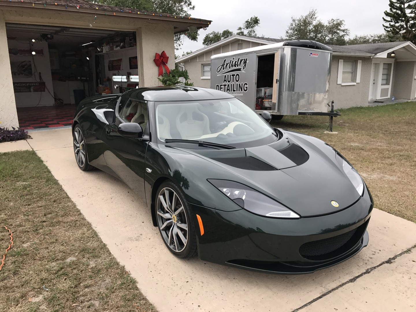 2011 Lotus Evora S coated with Crystal Serum Ultra
