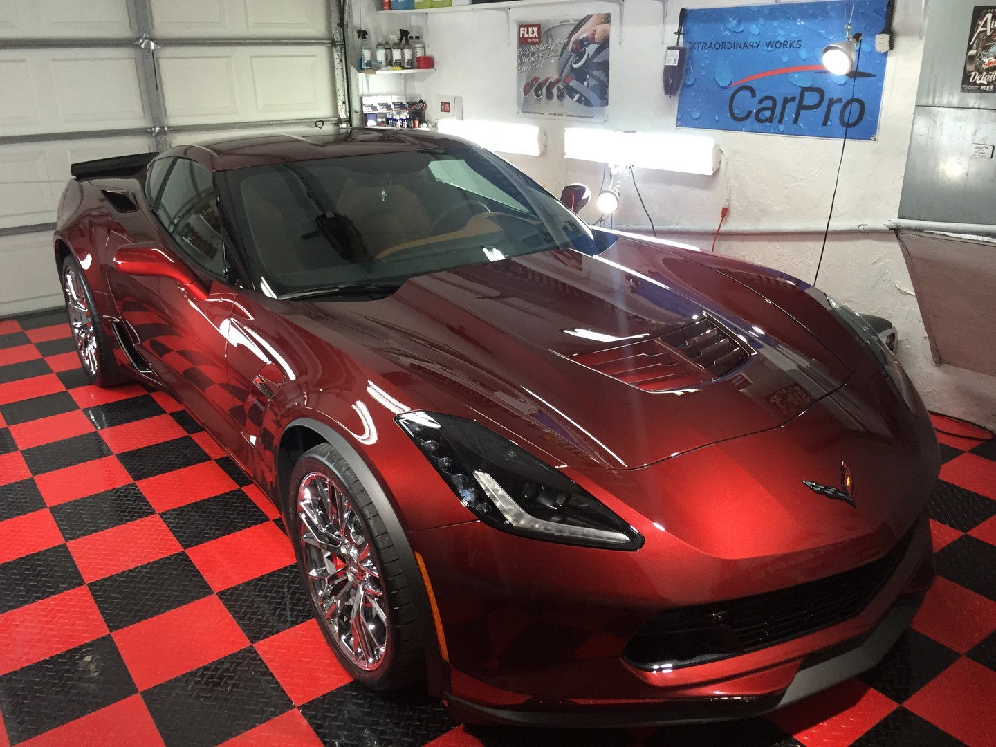 2017 C7 Corvette coated with Crystal Serum Ultra