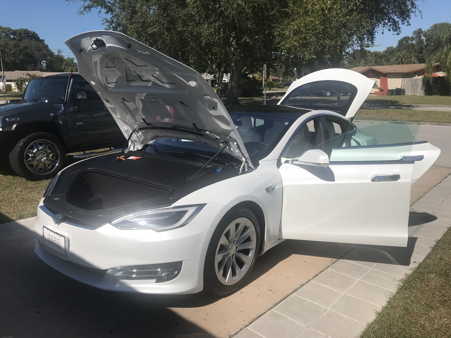 2018 Tesla Model S coated with Crystal Serum Ultra